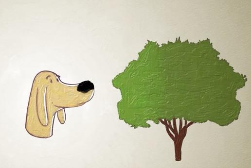 hond geuren