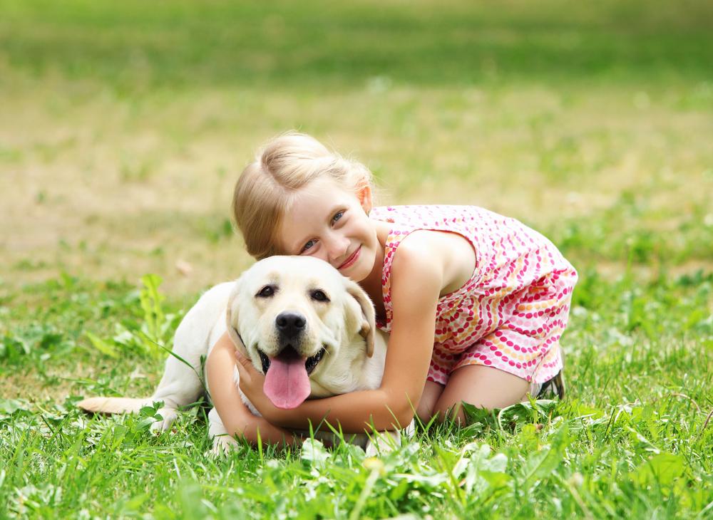 hond verhelpt stress bij kinderen